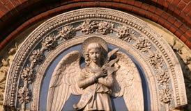 Het standbeeld van de engel stock fotografie