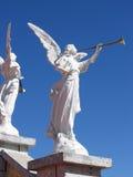 Het Standbeeld van de engel Stock Foto's