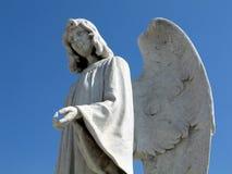 Het standbeeld van de engel stock afbeeldingen
