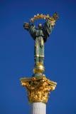 Het standbeeld van de engel, Kiev, de Oekraïne royalty-vrije stock afbeeldingen