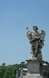 Het standbeeld van de engel in Rome Stock Afbeelding