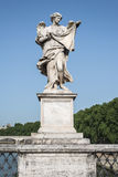 Het standbeeld van de engel in Rome Stock Foto's