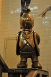Het Standbeeld van de Geldmens, dollarmens Royalty-vrije Stock Fotografie