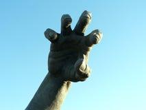 Het standbeeld van de hand Stock Afbeelding