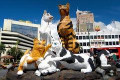 Het standbeeld van de Kat Stock Foto