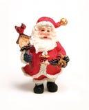 Het standbeeld van de Kerstman Royalty-vrije Stock Foto's
