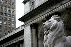 Het Standbeeld van de leeuw Royalty-vrije Stock Fotografie