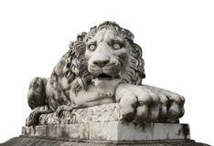 Het Standbeeld van de leeuw Stock Foto's
