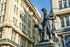 Het standbeeld van de Leopoldfontein Royalty-vrije Stock Foto