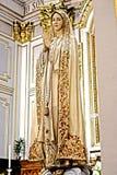 Het Standbeeld van de madonna Royalty-vrije Stock Foto