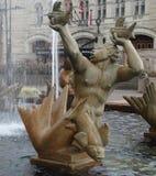 Het standbeeld van de Millesfontein Stock Foto's