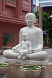 Het standbeeld van de moeder en van de Zon Stock Fotografie