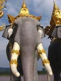 Het standbeeld van de olifant Royalty-vrije Stock Fotografie