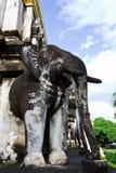 Het Standbeeld van de olifant Royalty-vrije Stock Afbeelding