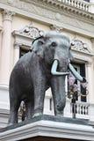 Het standbeeld van de olifant bij watpho, Thailand Royalty-vrije Stock Foto