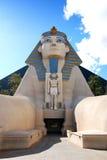 Het standbeeld van de sfinx, Luxor Hotel, Las Vegas Stock Foto