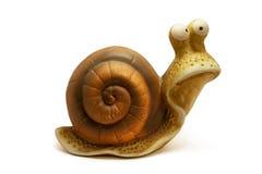 Het standbeeld van de slak Stock Foto's