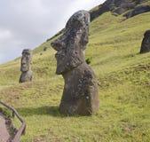 Het standbeeld van de steen van een monnik Royalty-vrije Stock Afbeelding