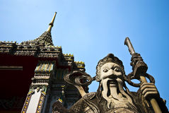 Het standbeeld van de tempel Royalty-vrije Stock Afbeeldingen