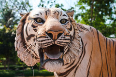 Het Standbeeld van de tijger Royalty-vrije Stock Afbeeldingen
