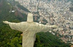 Het Standbeeld van de Verlosser van Christus Stock Afbeelding