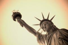 Het standbeeld van de vrijheid Stock Foto's