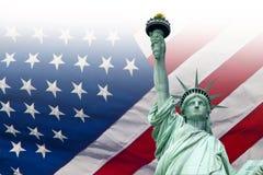 Het standbeeld van de Vrijheid, New York royalty-vrije stock afbeeldingen