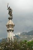 Het Standbeeld van de vrijheid, Plaza DE La Independencia Stock Afbeeldingen
