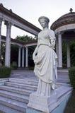 Het standbeeld van de vrouw in het park Royalty-vrije Stock Foto