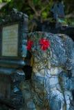 Het standbeeld van deity in Tanjung Benoa, Bali Stock Foto