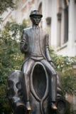 Het standbeeld van Franz Kafka Royalty-vrije Stock Afbeelding