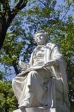 Het standbeeld van Franz schubert in Wenen royalty-vrije stock foto