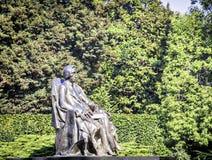 Het standbeeld van Frederic Chopin Royalty-vrije Stock Foto