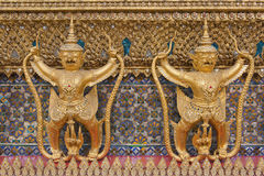 Het standbeeld van Garuda. Stock Foto