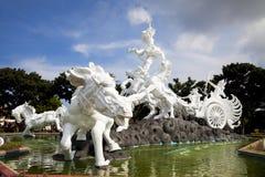 Het Standbeeld van Gatotkaca van Satria, Bali, Indonesië Stock Afbeeldingen