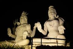 Het standbeeld van godssiva vizag stock afbeelding