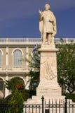 Het standbeeld van Griekenland Zante van Dionysios Solomos royalty-vrije stock foto