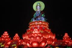 Het standbeeld van Guanyinbodhisattva Royalty-vrije Stock Afbeeldingen
