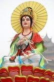 Het standbeeld van Guanyinbodhisattva Stock Afbeeldingen
