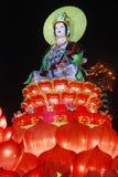 Het standbeeld van Guanyinbodhisattva Stock Foto
