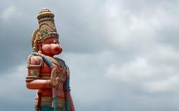 Het standbeeld van Hanuman met exemplaarruimte Stock Foto