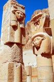 Het Standbeeld van Hathor Stock Foto's