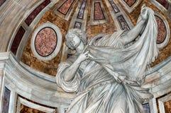 Het standbeeld van heilige Veronica stock afbeeldingen