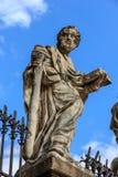 Het standbeeld van Heiligen Stock Afbeelding