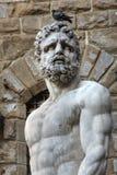 Het standbeeld van hercules in Florence, Italië Royalty-vrije Stock Afbeeldingen