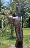 Het Standbeeld van het brons aan Mijn Slachting Lai stock foto's