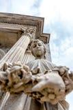 Het Standbeeld van het Meisje van La Recoleta Royalty-vrije Stock Afbeeldingen