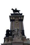 Het standbeeld van het mythologiepaard Stock Foto's