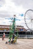 Het Standbeeld van het Parkwhimsea van de Waterkant van Seattle Stock Afbeeldingen