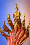 Het standbeeld van het serpent Stock Foto's